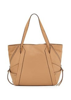 Kooba Connor Pebbled Leather Tote Bag, Camel