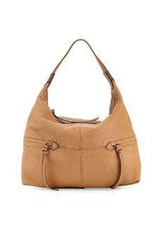 Kooba Crosby Leather Hobo Bag, Camel