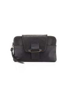 Kooba Emery Convertible Leather Clutch Bag, Black