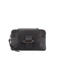 Kooba Emery Convertible Leather Clutch Bag, Black