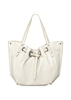Kooba Eva Leather Tote Bag, Creme