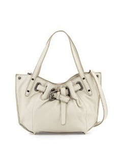 Kooba Eva Mini Shoulder Bag, Creme