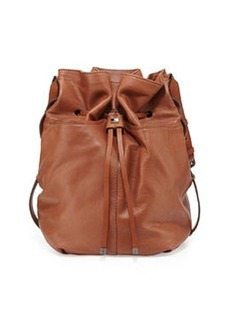 Kooba Frankie Drawstring Bucket Bag, Earth