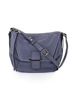 Kooba Gary Front-Flap Crossbody Bag, Ocean Blue