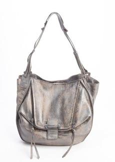 "Kooba gunmetal leather ""Zoey"" shoulder bags"
