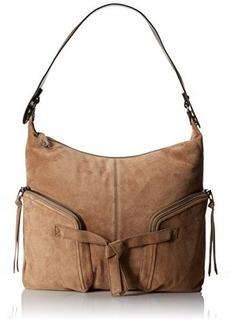 Kooba Handbags Farrah Suede Shoulder Bag