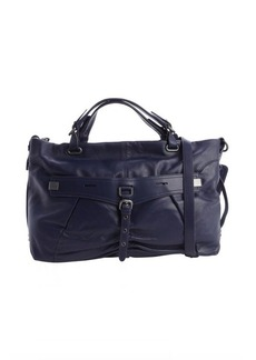 Kooba indigo blue leather 'Desmin' convertible bag