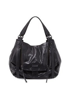 Kooba Jonnie Leather Hobo Bag, Black