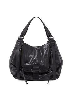 Kooba Jonnie Leather Hobo Bag, Black