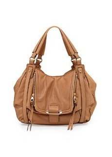 Kooba Jonnie Leather Hobo Bag, Camel