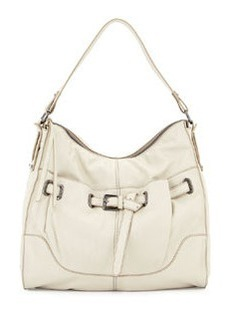 Kooba Kylie Leather Hobo Bag, Creme