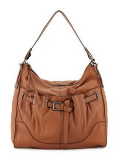 Kooba Kylie Leather Hobo Bag, Earth