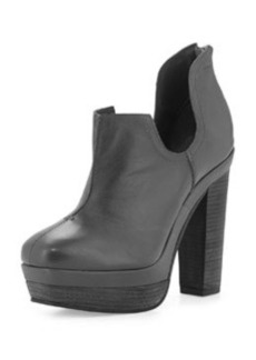 Kooba Mackenzie Cutout Booties, Black