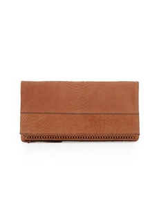 Kooba Marilyn Leather Fold-Over Clutch