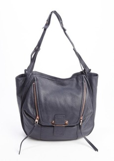 "Kooba midnight blue leather ""Zoey"" shoulder bags"