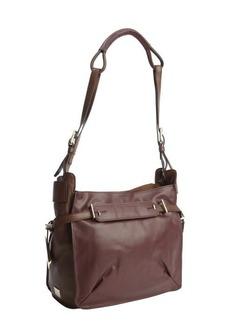 Kooba plum leather 'Flynn' shoulder bag