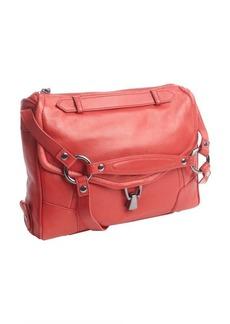Kooba red leather 'Alexander' pocket hobo