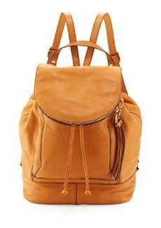 Kooba Steinbeck Leather Backpack, Sunset