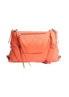 Kooba tangerine leather crossbody 'Brielle' bag