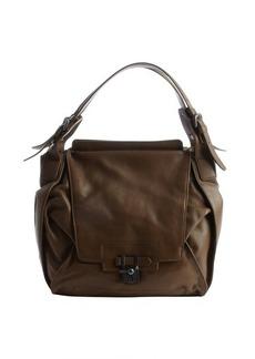 Kooba taupe leather 'Valerie' shoulder bag