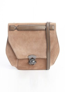 "Kooba taupe suede ""Marie"" adjustable crossbody bag"
