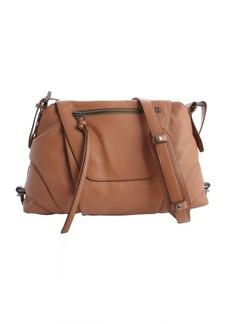 Kooba terra cotta leather crossbody 'Brielle' bag