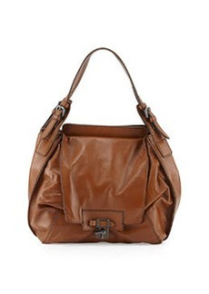 Kooba Valerie Soft Leather Hobo Bag, Sienna