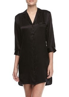 Basic Silk Sleepshirt   Basic Silk Sleepshirt