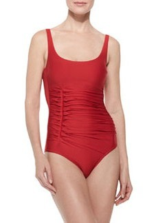 D'Antibes Gathered Scoop One-Piece   D'Antibes Gathered Scoop One-Piece