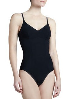 Invisible Contour-Seamed Bodysuit   Invisible Contour-Seamed Bodysuit