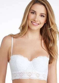 La Perla + Sangallo Cotton Longline Bra
