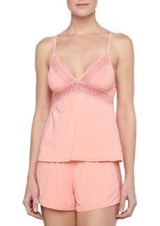 La Perla Fiorenza Lace-Trim Shorts