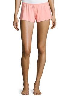 La Perla Lace-Inset Straight-Leg Shorts