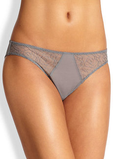La Perla Lily Lace Panel Thong