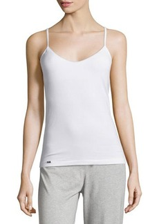 La Perla Scoop-Neck Camisole w/ Shelf Bra