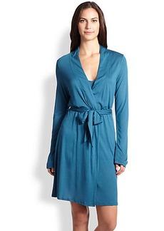 La Perla Short Knit Wrap Robe