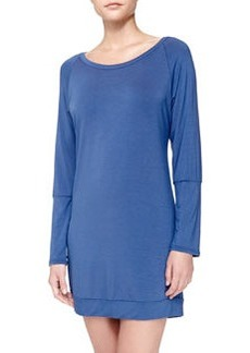 La Perla Studio Elodie Lace-Back Sleep Shirt