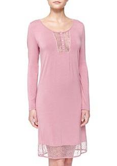 La Perla Studio Lily Long-Sleeve Sleep Shirt