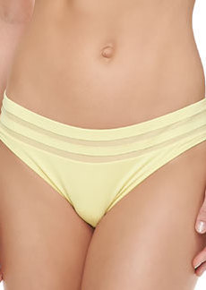 Mesh-Inset Hipster Bottom   Mesh-Inset Hipster Bottom