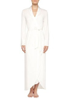 Primula Asymmetric Cutaway Long Robe, Natural   Primula Asymmetric Cutaway Long Robe, Natural