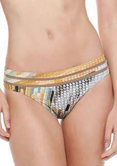 Printed Hipster Swim Bottom   Printed Hipster Swim Bottom