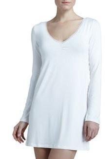 Rosa Long-Sleeve Night Dress   Rosa Long-Sleeve Night Dress