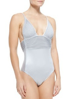 Tuxedo One-Piece Swimsuit   Tuxedo One-Piece Swimsuit