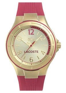 Lacoste 'Acapulco' Silicone Strap Watch, 38mm