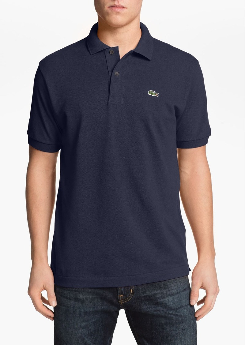 Lacoste lacoste classic piqu polo tall t shirts for Big and tall polo shirts on sale