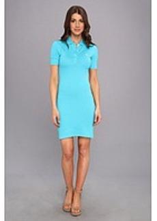 Lacoste L!VE Short Sleeve Pique Polo Dress