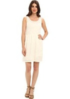 Lacoste L!VE Sleeveless Embroidered Tank Dress