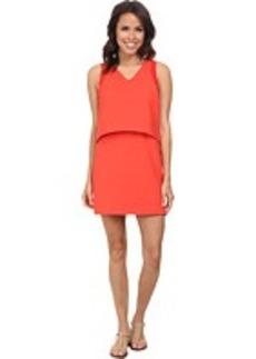 Lacoste L!ve Sleeveless Layered Tank Dress