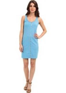 Lacoste L!VE Sleeveless Printed Full Zip Tank Dress