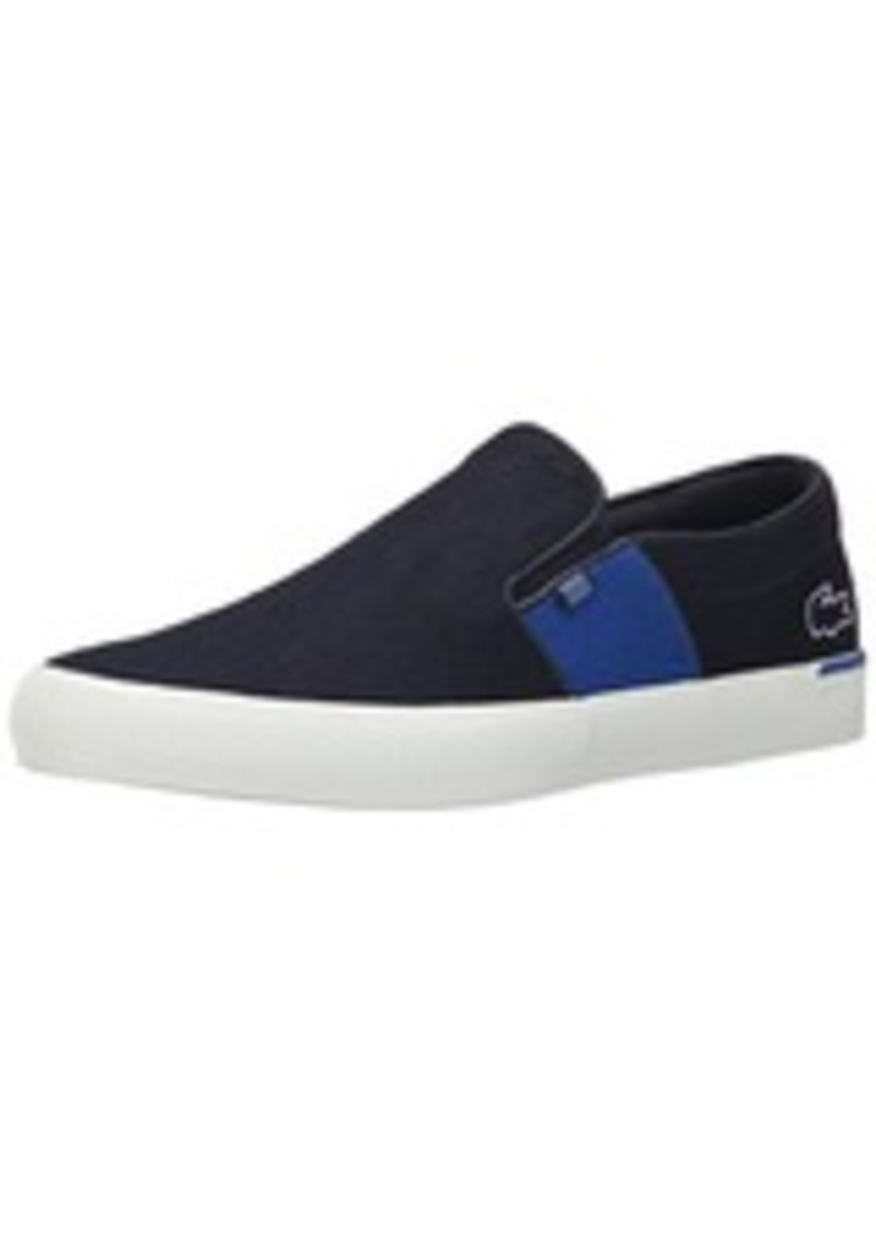 lacoste lacoste men 39 s gazon 9 fashion sneaker navy 12 m us shoes shop it to me. Black Bedroom Furniture Sets. Home Design Ideas